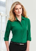 Ladies Biz Collection Verve 3/4 Sleeve Shirt