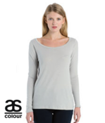 Copy of Women's Stella Long Sleeve T Shirt by 'As Colour '