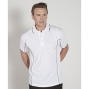Mens S/S Piping Polo