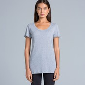 AS Colour Shutter Womens Scoop Tee