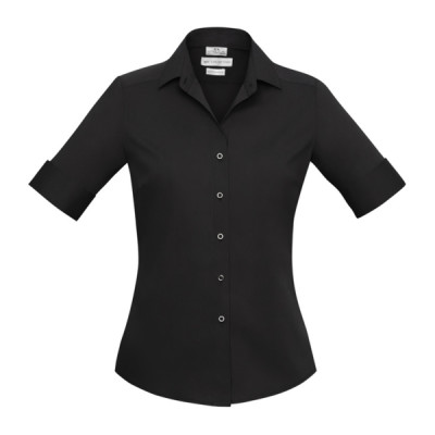 Biz Collection Verve Women's Short Sleeve Shirt