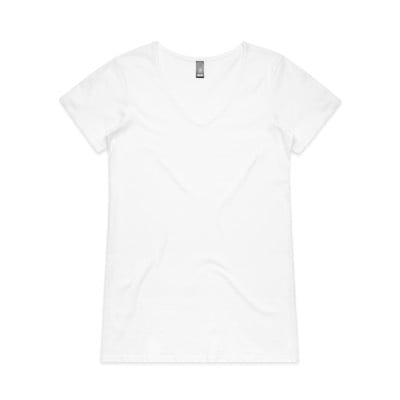 Women's Bevel Boutique Fashion V Neck by 'As Colour '