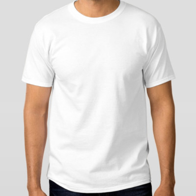 Men's Special Basic White T-Shirt