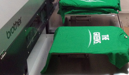 Greens Queensland T Shirt Printing