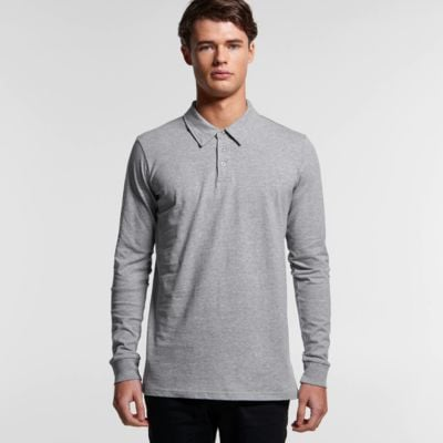AS Colour Chad Long Sleeve Polo Thumbnail
