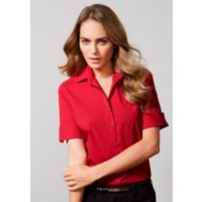 Biz Collection Monaco Women's Short Sleeve Shirt Thumbnail