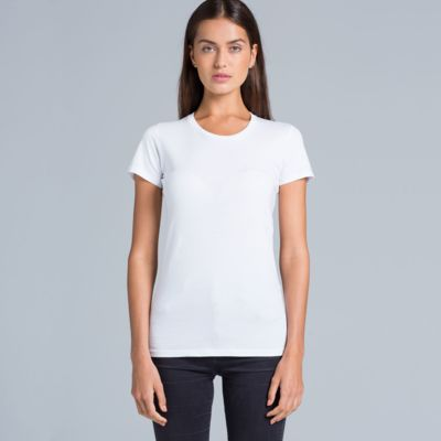 Special: AS Colour White Wafer Women Crew Tee Thumbnail