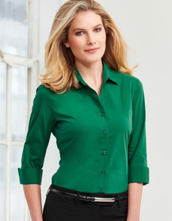 Ladies Biz Collection Monaco 3/4 Sleeve Shirt Thumbnail