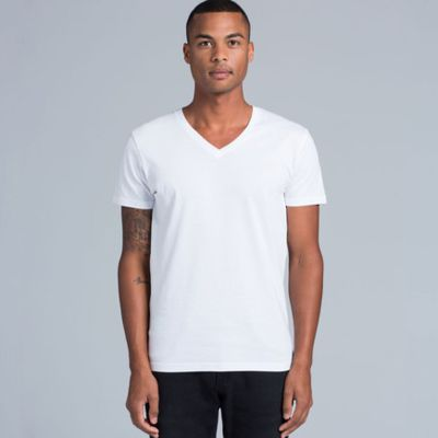 AS Colour Tarmac V Neck Mens Tee Thumbnail
