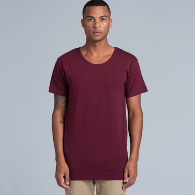 AS Colour Mens Shadow Scoop Tee Thumbnail