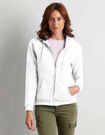 Gildan Ladies Zip Hooded Sweatshirt Thumbnail