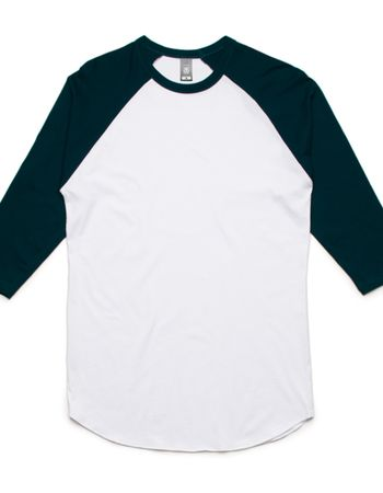 AS Colour 3/4 Raglan Tee Unisex Thumbnail