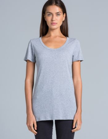 AS Colour Shutter Womens Scoop Tee Thumbnail