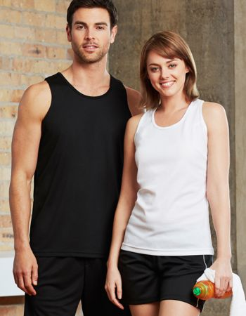 Biz Collection Mens Cooldry Singlet Thumbnail