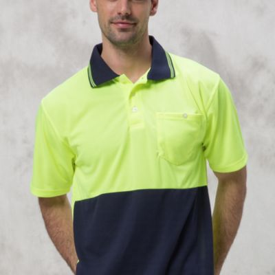 Quoz P-F06 High-Vis Cooldry Polo  Thumbnail