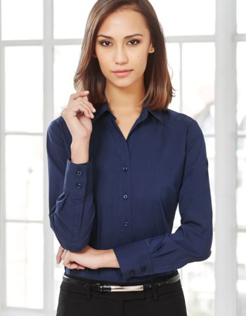 Ladies Biz Collection Monaco Longsleeve Shirt Thumbnail