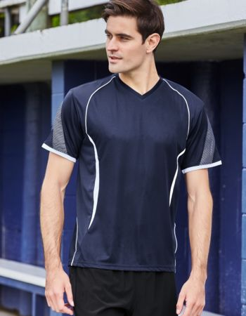 Men's Cooldry Razor V Neck Tee Thumbnail