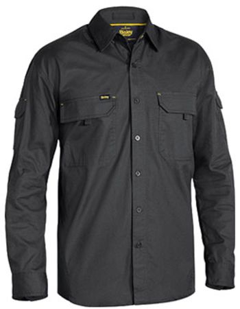 Bisley Mens Ripstop X Airflow Mens Shirt Thumbnail