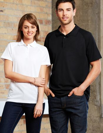 Mens Biz Collection Cooldry Sprint Polo Thumbnail