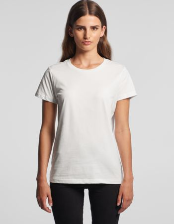 Women's Maple Crew Neck Tee by 'AS Colour' Thumbnail