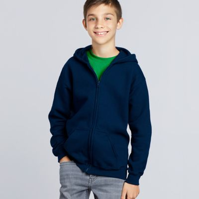 Gildan Youth Zip Hooded Sweatshirt Thumbnail