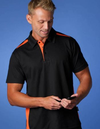 Mens Paterson Cooldry Cotton Blend Polo Thumbnail