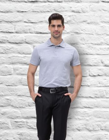 Mens Quoz Cotton Pique Polo Thumbnail