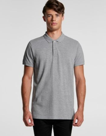 AS Colour Mens Pique Polo 5411 Thumbnail