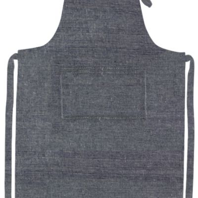 Cotton Apron w Pocket Thumbnail