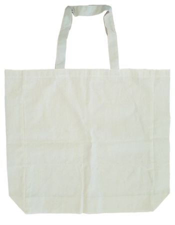 Calico Short Handle Shopping Tote 370mm x 420mm Thumbnail