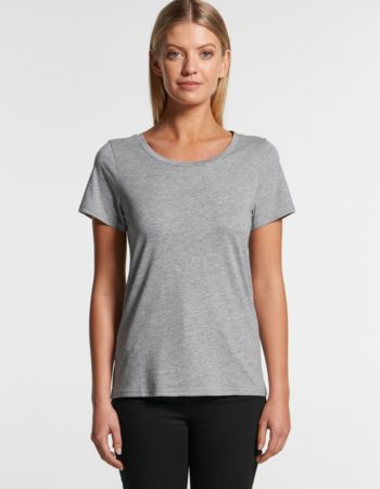 AS Colour Women's Shallow Scoop Tee - 4011 Thumbnail