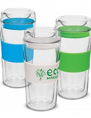 Hot / Cold Double Glass Cup 340ml Thumbnail