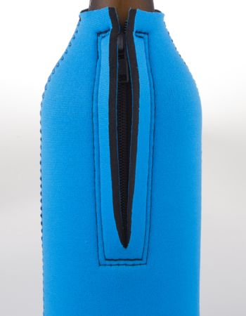 Zip up bottle cooler with base 750ml Thumbnail