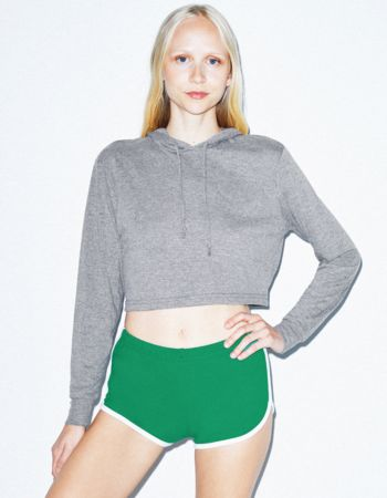 American Apparel Tri-Blend Cropped Hoody Thumbnail