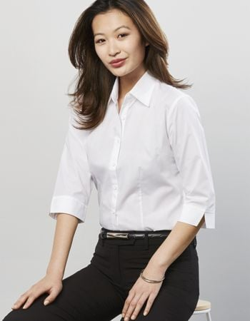Biz Collection Ladies Base 3/4 Sleeve Shirt Thumbnail