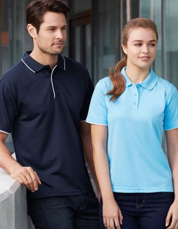Biz Collection Elite Mens Polo Thumbnail