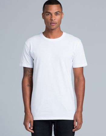 AS Colour Staple Tee White - Same Day Dispatch Thumbnail