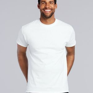 Men's Gildan Heavy Cotton White T Shirt Thumbnail