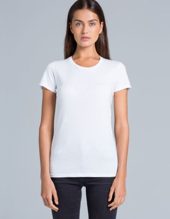 AS Colour Wafer Womens Crew Neck Tee Thumbnail
