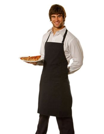 RAMO Full-bib Apron - 100% cotton canvas Thumbnail