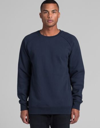 Men's Box Boutique Crew Sweatshirt by 'As Colour' Thumbnail