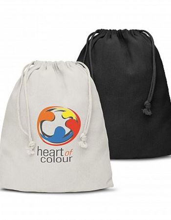 Cotton Gift Bag 250H by 200W Thumbnail