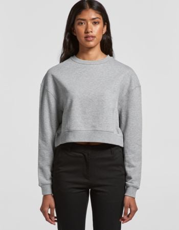 AS Colour Women's Crop Crew Sweater Thumbnail