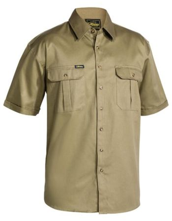 Bisley BS1433 Cotton Drill Shirt Thumbnail