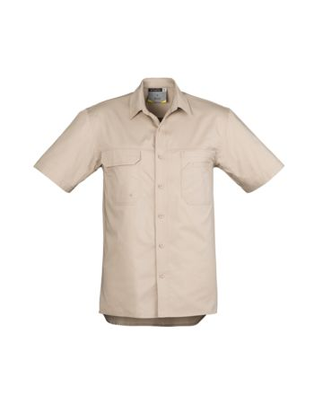 Syzmik Mens Light Weight Tradie S/S Shirt Thumbnail