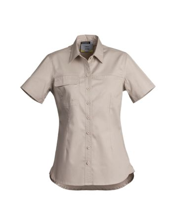 Syzmik Womens Light Weight Tradie S/S Shirt Thumbnail