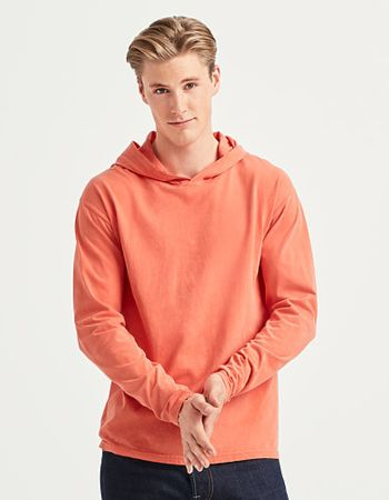 Comfort Colours Long Sleeve Hooded Tee 4900 Thumbnail