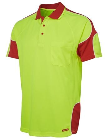 JB's Hi Vis Arm Panel Polo 6AP4S Thumbnail