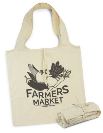 Farmers Market Cotton Tote Bag - H 420mm x W 400mm  Thumbnail