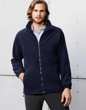 Biz Collection Mens Micro Fleece Jacket Thumbnail